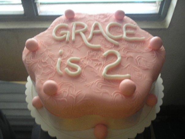 Petal Shape cake 1(B103)